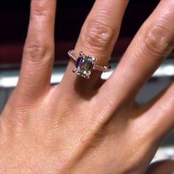 Classic Emerald Cut Engagement Ring