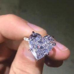 Classic Heart Cut Engagement Ring
