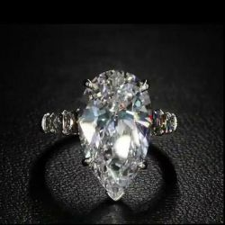 Timeless Pear Cut Engagement Ring