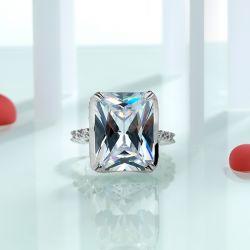 Unique Radiant Cut Engagement Ring